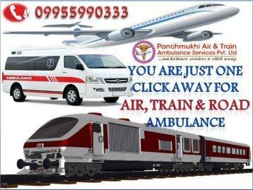 Panchmukhi ICU Charter Air Ambulance Service in Guwahati and Chennai