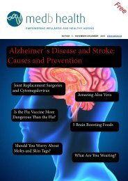 Alzheimer's Disease and Stroke: Causes and Prevention