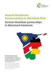 Deutsch-Namibische Partnerschaften in Rheinland-Pfalz / German-Namibian partnerships in Rhineland-Palatinate