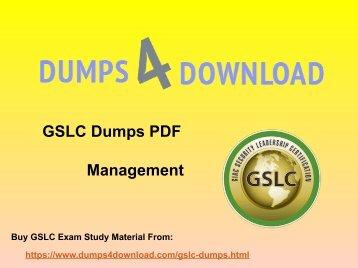 2018 GSLC Exam Questions, GSLC Study Materials