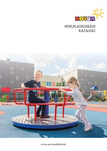 Novum Spielplatzgeräte katalog 2018