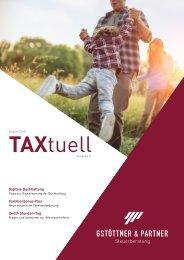 TAXtuell - Ausgabe 5 - 08/18