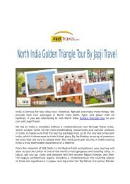 Golden Triangle Tour by Japji Travel
