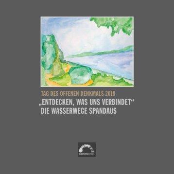 Denkmal-Broschüre  2018