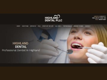 Dentist in Clintondale NY | Dental Care Newburgh - Highland Dental PLLC