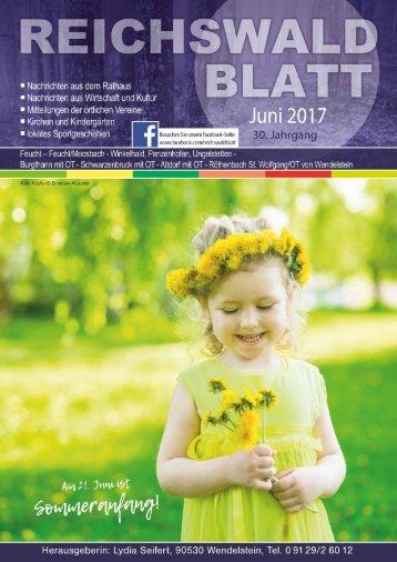 Reichswaldblatt Juni 2017