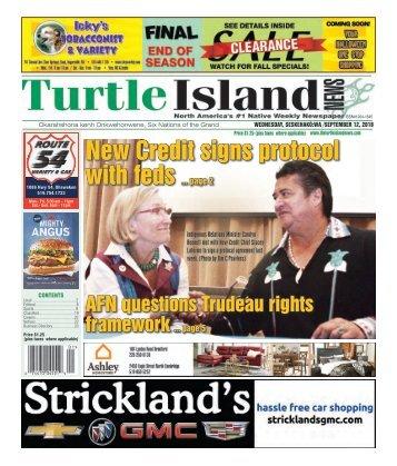 Turtle Island News - 09/12/2018