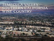 Temecula Valley Southern California Wine Country