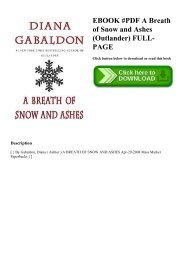 EBOOK #PDF A Breath of Snow and Ashes (Outlander) FULL-PAGE