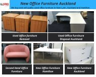 New Office Furniture Auckland