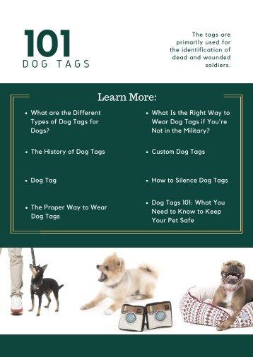 101 Dog Tags
