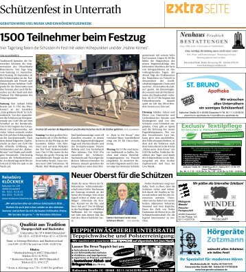 Schützenfest in Unterrath  -13.09.2018-