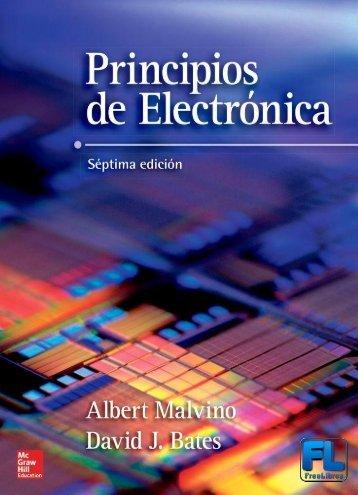 Principios de electrónica, 7ma Edición - Albero Malvino