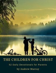 The Children for Christ by Andrew Murray
