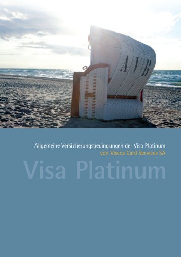 Visa Platinum - Viseca Card Services SA