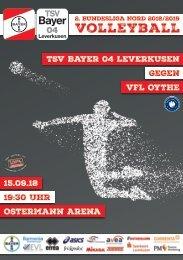 Spieltagsnews Nr. 1 gegen VfL Oythe