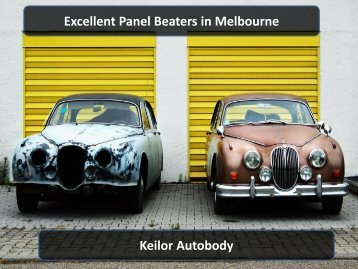 Excellent Panel Beaters in Melbourne - Keilor Autobody