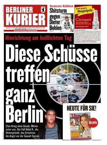 Berliner Kurier 11.09.2018