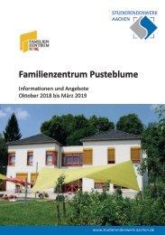 Familienzentrum Pusteblume - Programm ab Oktober 2018