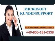 Wie Microsoft Kundensupport 0800-181-0338 Technische Probleme Aufklärt?