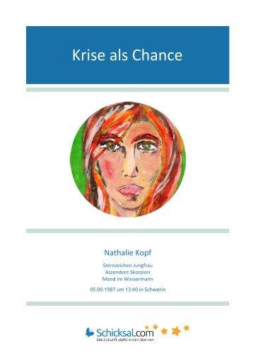 Horoskop Krise als Chance Nathalie