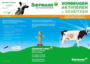 VORBEUGEN AKTIVIEREN + SCHÜTZEN - Siepmann