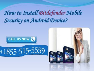 Install Bitdefender antivirus on Android Device