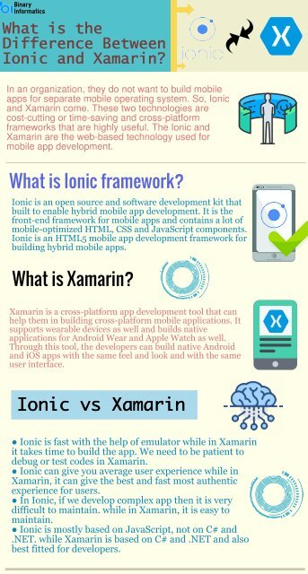 What is the Difference Between Ionic and Xamarin 1