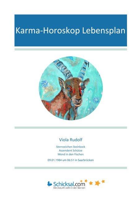 Karma Horoskop Lebensplan Viola