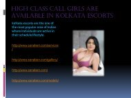 High Class Call Girls Are Available in Kolkata (1)
