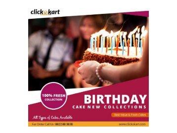 The 5 Popular Types Of Birthday Cakes