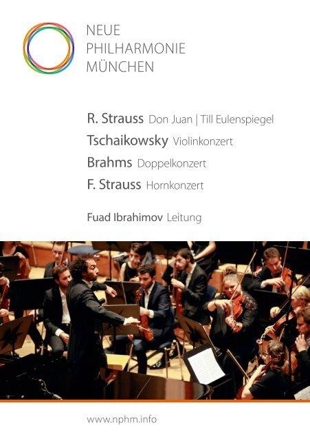 Neue Philharmonie Müchen Fall/Herbst 2018