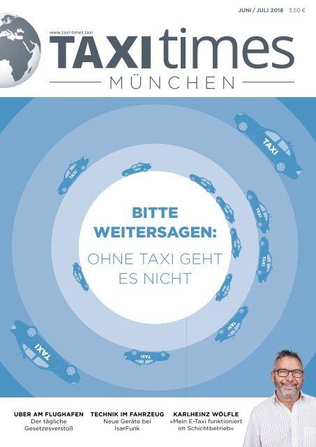 Taxi Times München - Juni 2018
