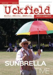 Uckfield Matters Issue 132 August 2018