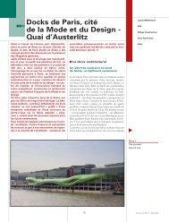 Docks de Paris, cité de la Mode et du Design - Quai d'Austerlitz