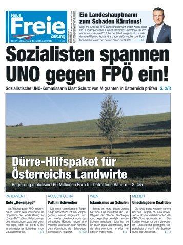 Sozialisten spannen UNO gegen die FPÖ ein!