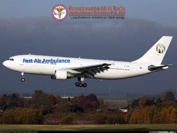 Get Fast Air Ambulance Services in Kolkata with Medical Team