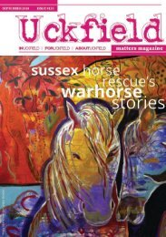 Uckfield Matters Issue 133 Sept 2018