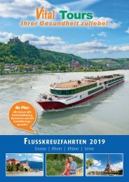 Vital Tours Flusskreuzfahrten 2019