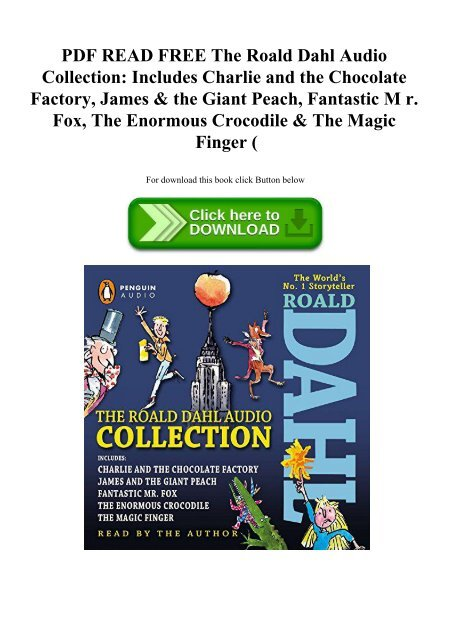 Roald Dahl Fantastic Mr Fox Pdf