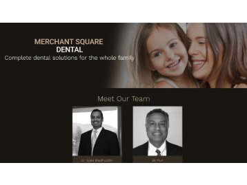 Dentist in West Milford NJ | Family Dentistry Chester NY - Merchant Square Dental