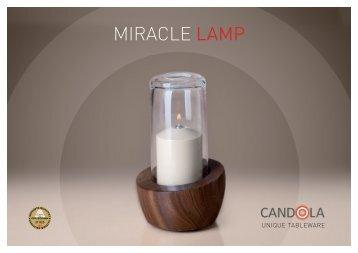 Candola Miracle Lamp