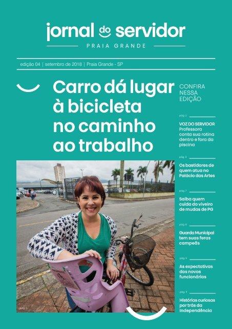 Jornal do Servidor - Praia Grande | Ed. 4 | Setembro 2018