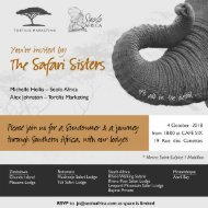 safari sisters Cafe Six