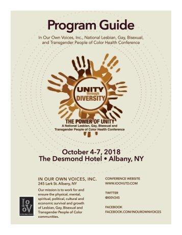 UTD 2018 Program Guide