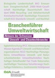 Branchenführer Umweltwirtschaft 2018