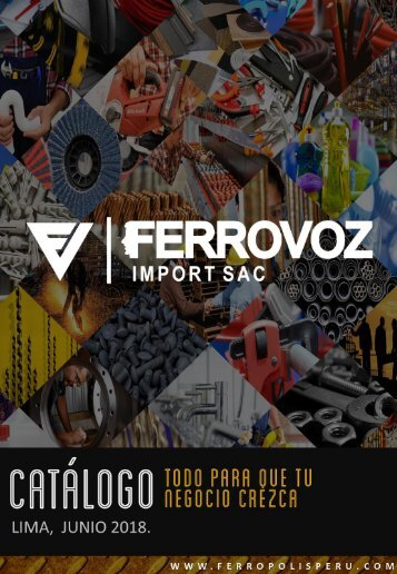 CATALOGO FERRETERO FERROVOZ JUN 2018