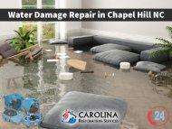 Emergency Water Damage Repair in Chapel Hill NC