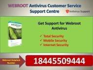 Webroot Customer Service helps 18445509444 USA Toll Free