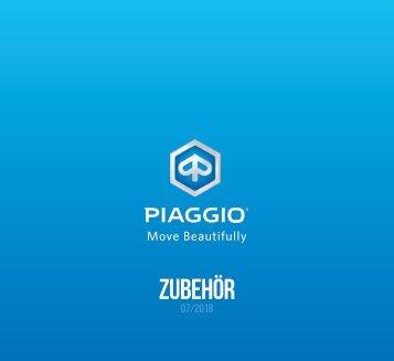 PIAGGIO Zubehörkatalog 2018